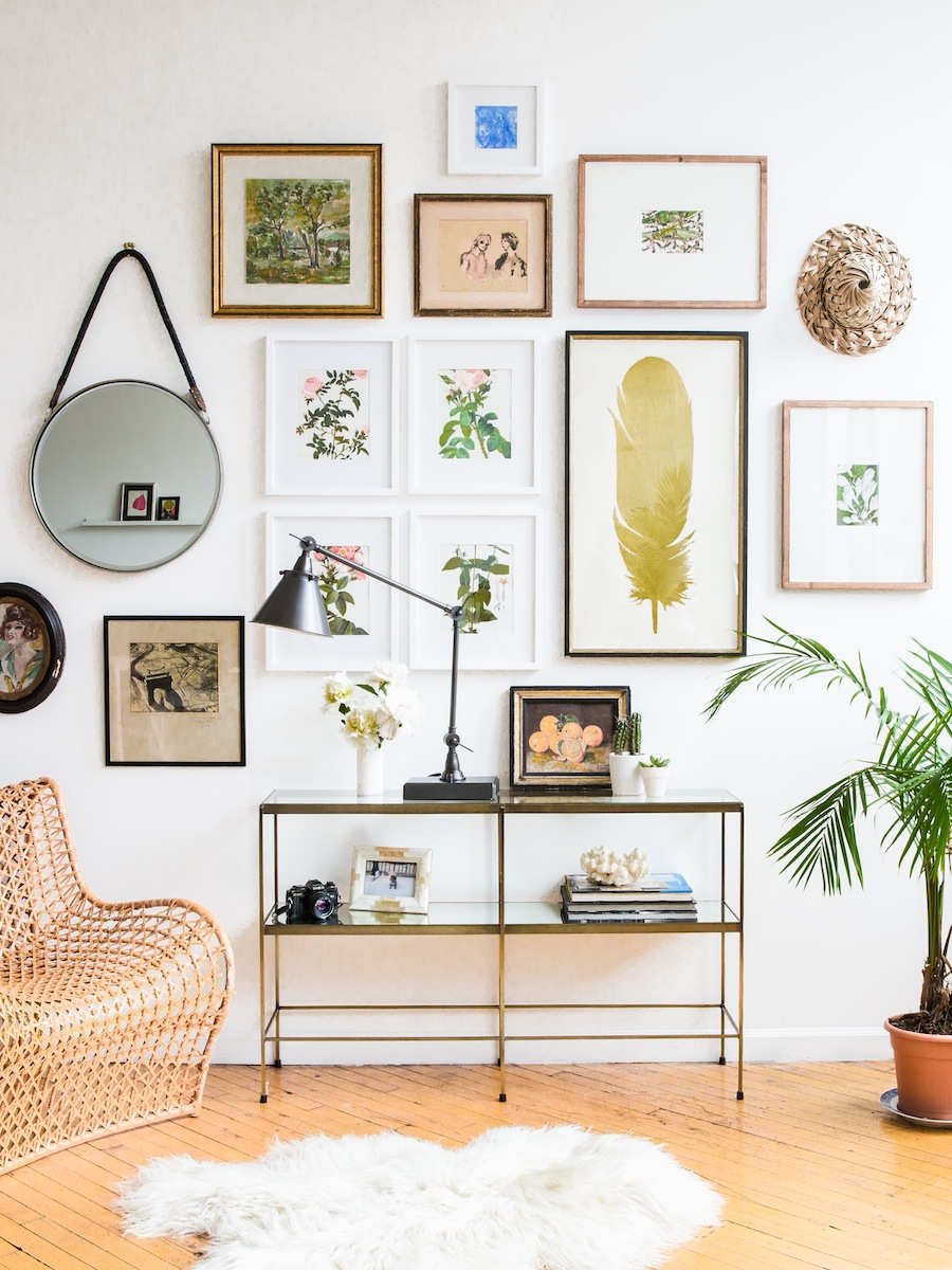 How to Makeover Your Gallery Wall with Zio  Sons