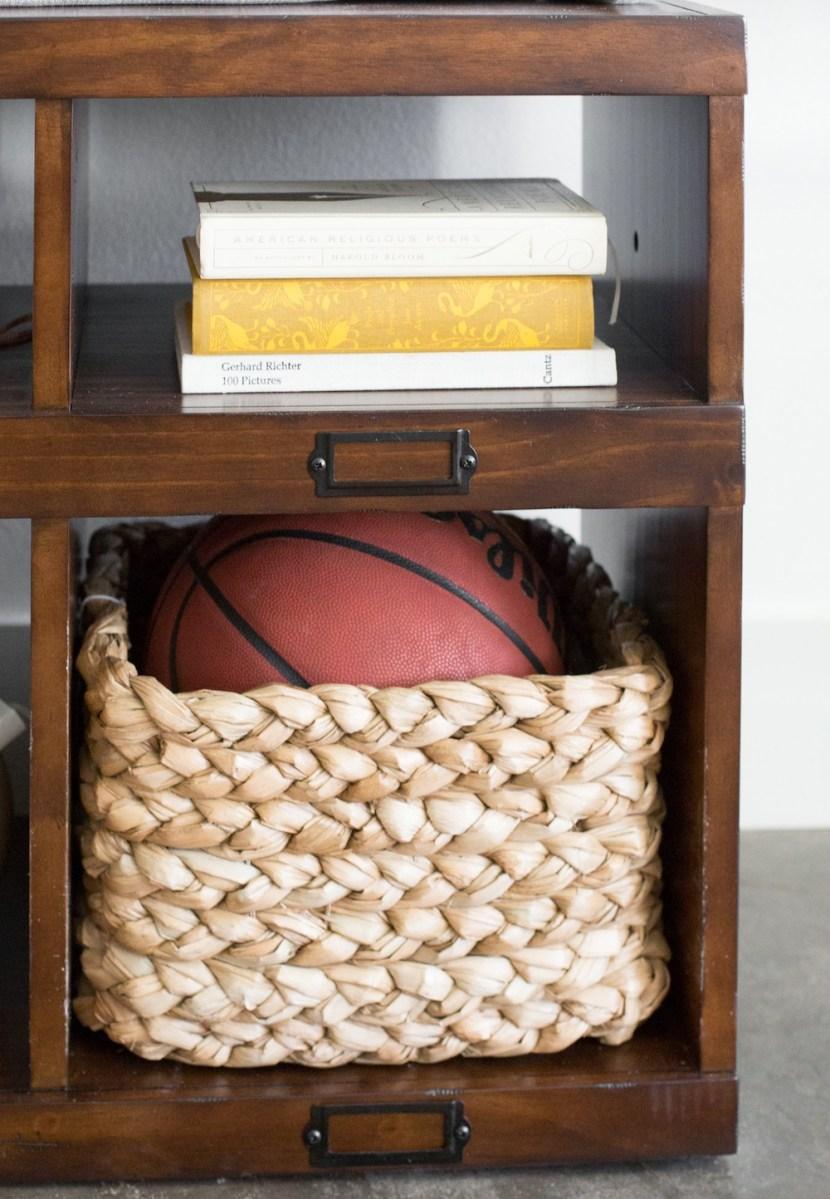 Entryway Basket