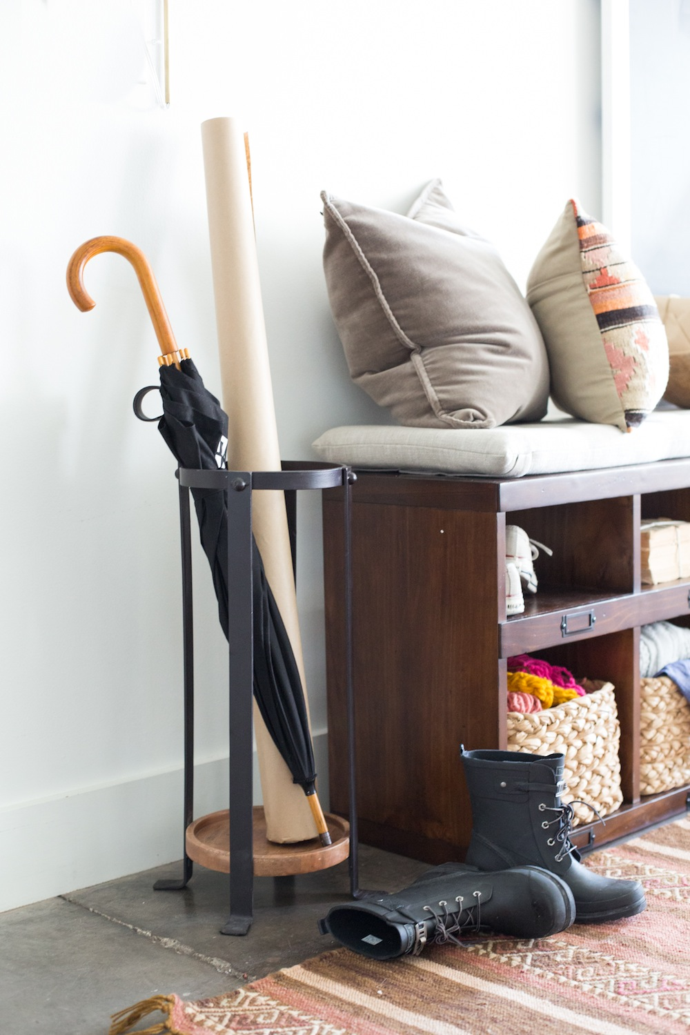 Entryway Makeover Tips  Tricks with Camille Styles