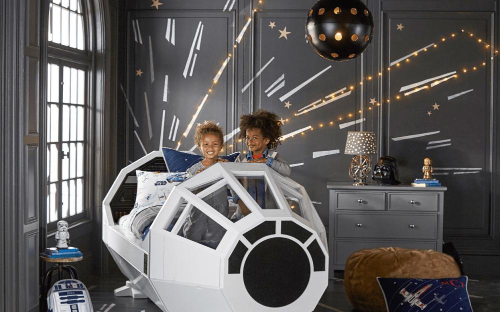 Star Wars Pottery Barn Kids Millennium Falcon Bed