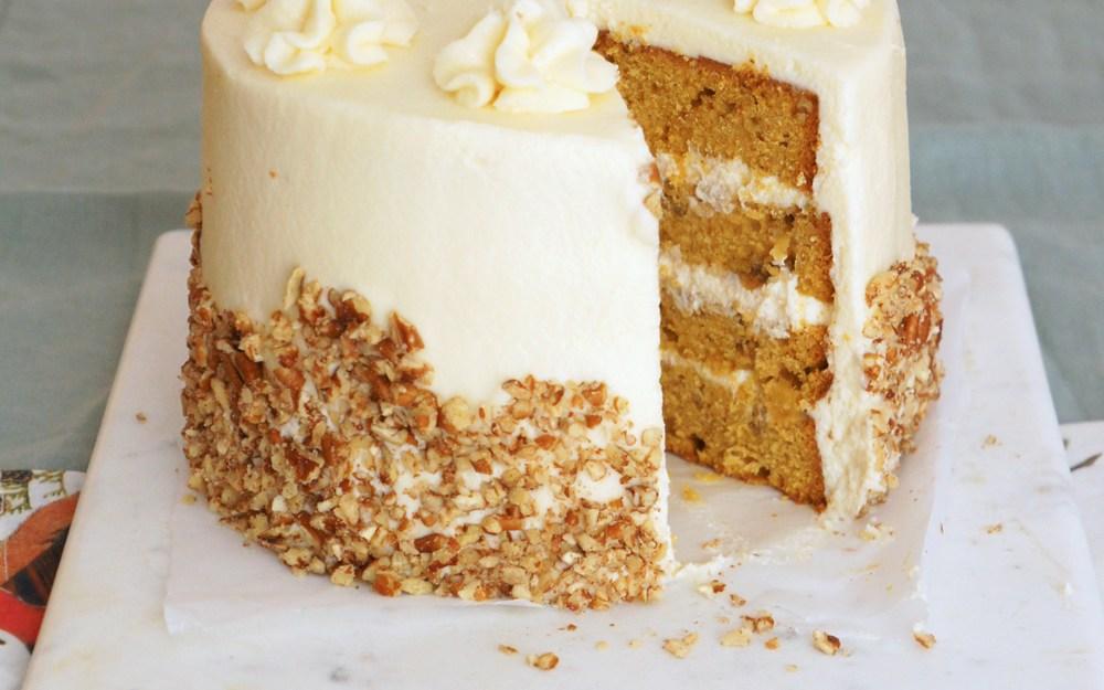 Pumpkin Hummingbird Cake