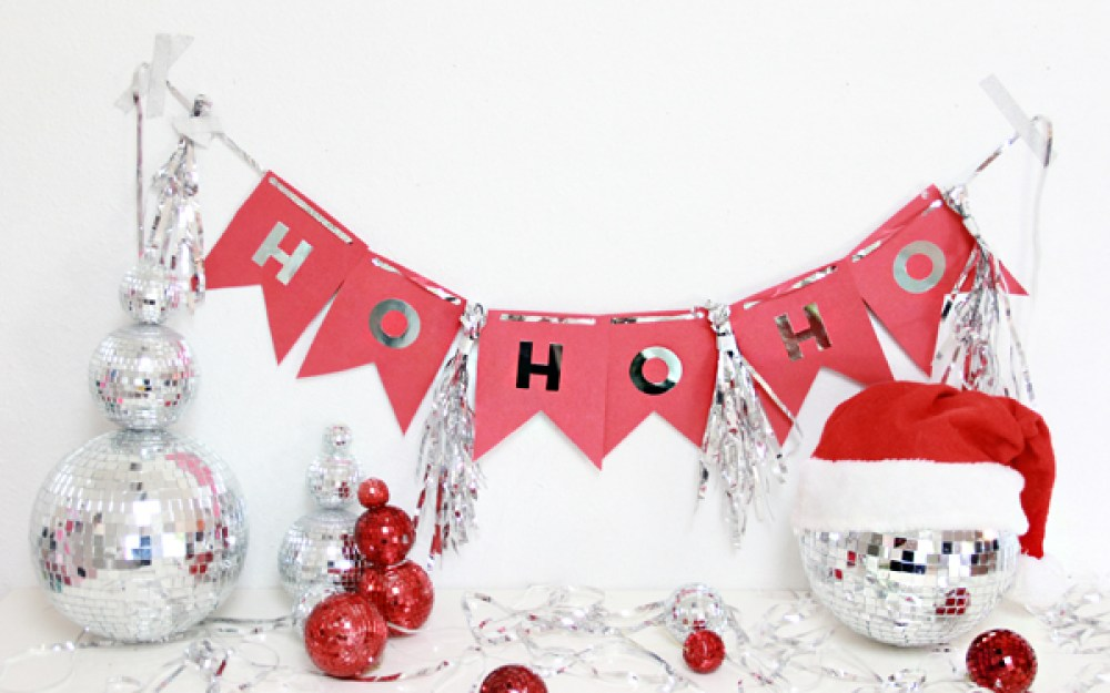 Christmas Banner Diy Pottery Barn