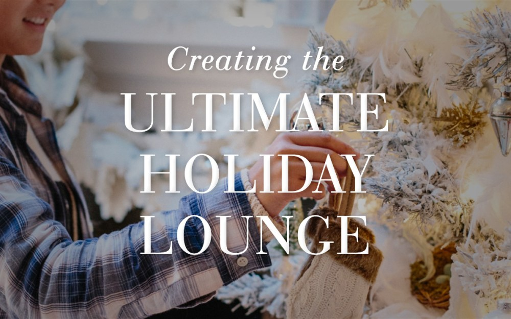 Happy Nester Creates The Ultimate Laid Back Holiday Lounge