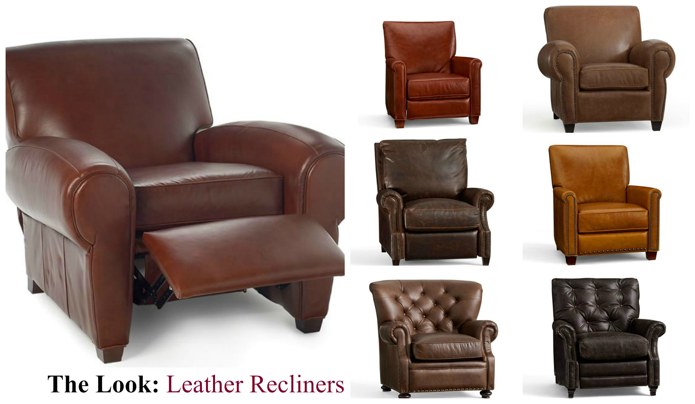 Picture of: 5 Simple Tips For Decorating With Leather Recliners To Fit Any Space Pottery Barn