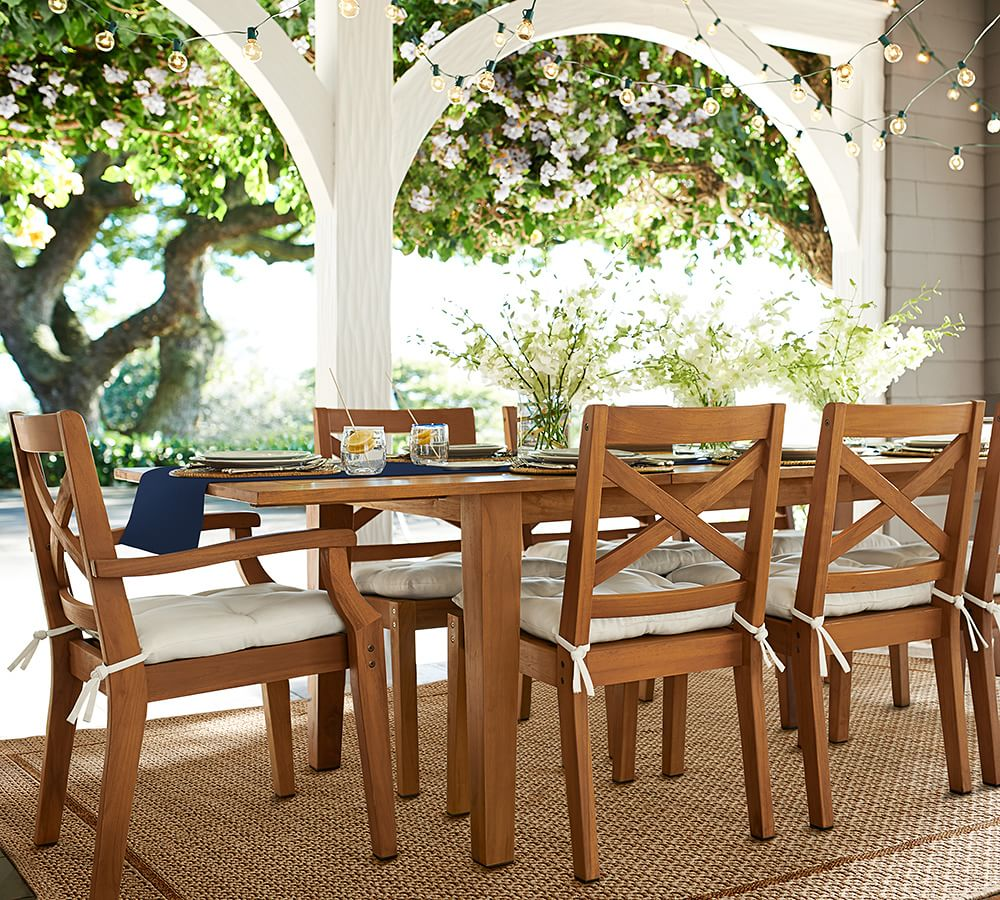 Outdoor Garden Furniture By Pottery Barn: Four Outdoor Lighting Ideas For A Party