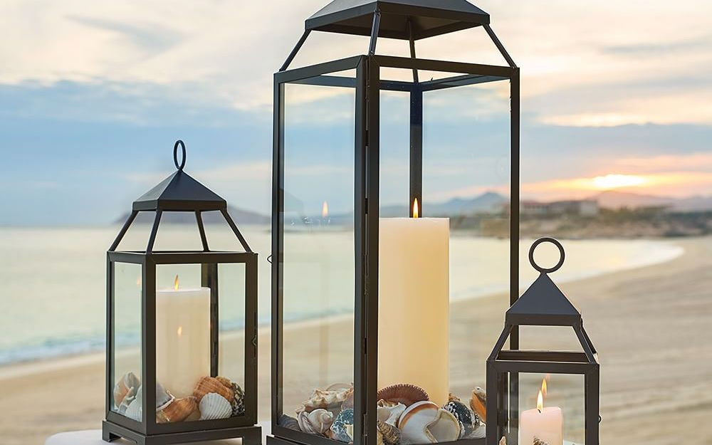 Four outdoor lighting ideas for a party pottery barn back workwithnaturefo