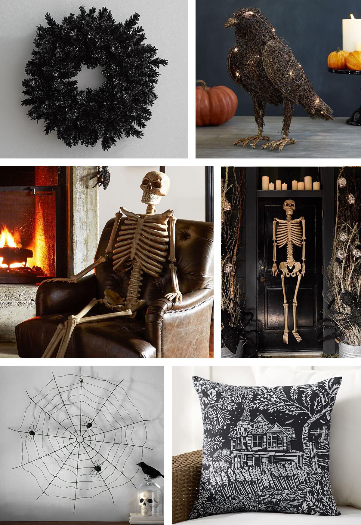 Frightful & Friendly Halloween Front Door Dcor