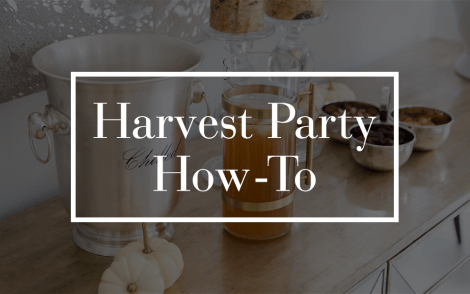 Harvest Party How-To