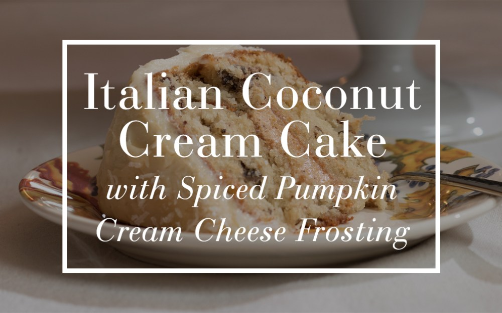Italian Cream Cheese Cake