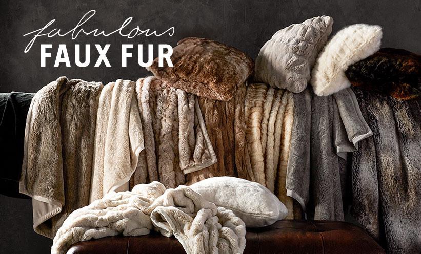 Fun With Faux Fur Pottery Barn