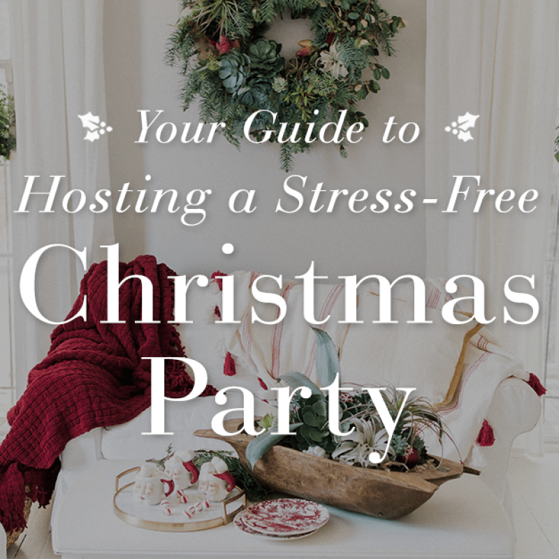 Hosting a Stress-Free Christmas Party