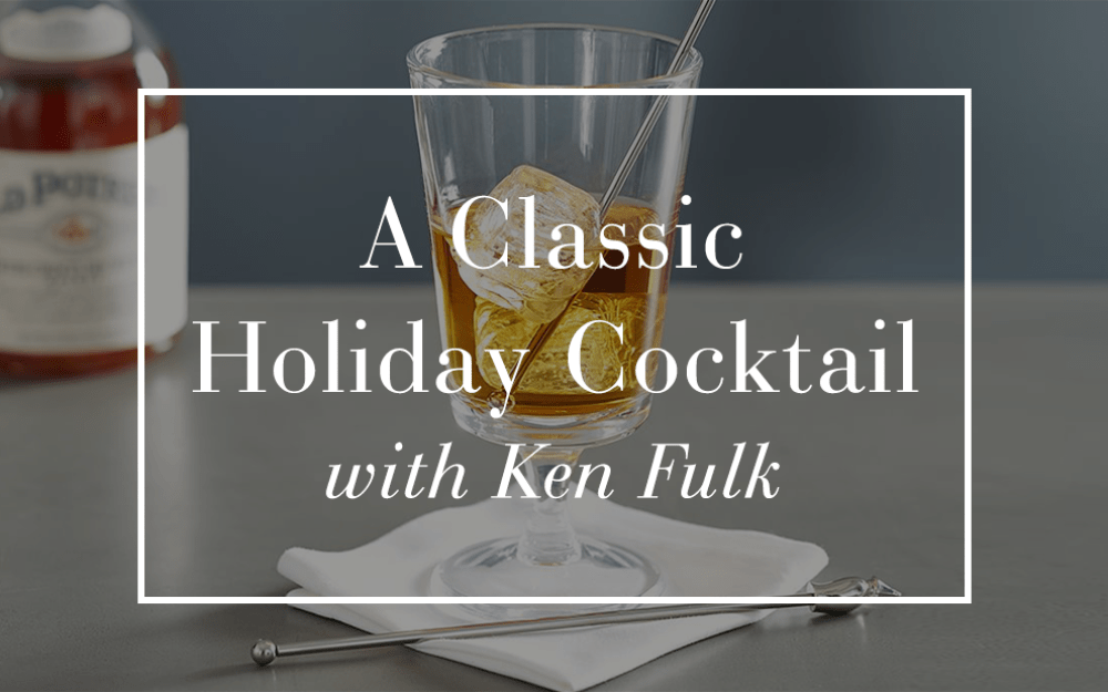 A Holiday Cocktail with Ken Fulk