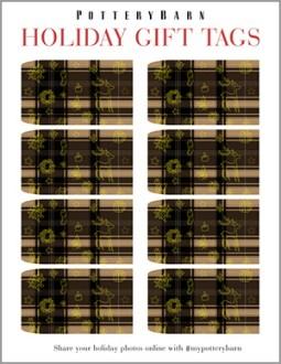 Seasons Greetings: Downloadable Gift Tags & Card by George McCalman
