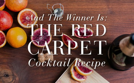 The Red Carpet Cocktail