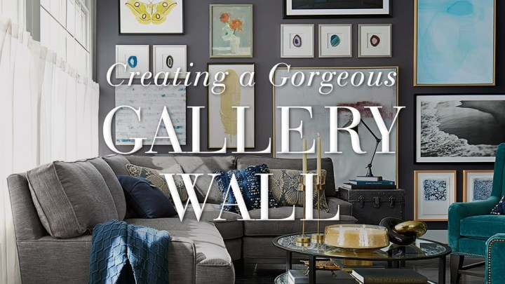 Creating a Gorgeous Gallery Wall