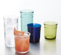 Pottery Barn Acrylic Glasses