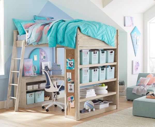 Pottery Barn Teen Bedroom Lofts Ideas