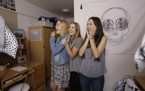 Emily and Merritt UCLA Dorm Makeover