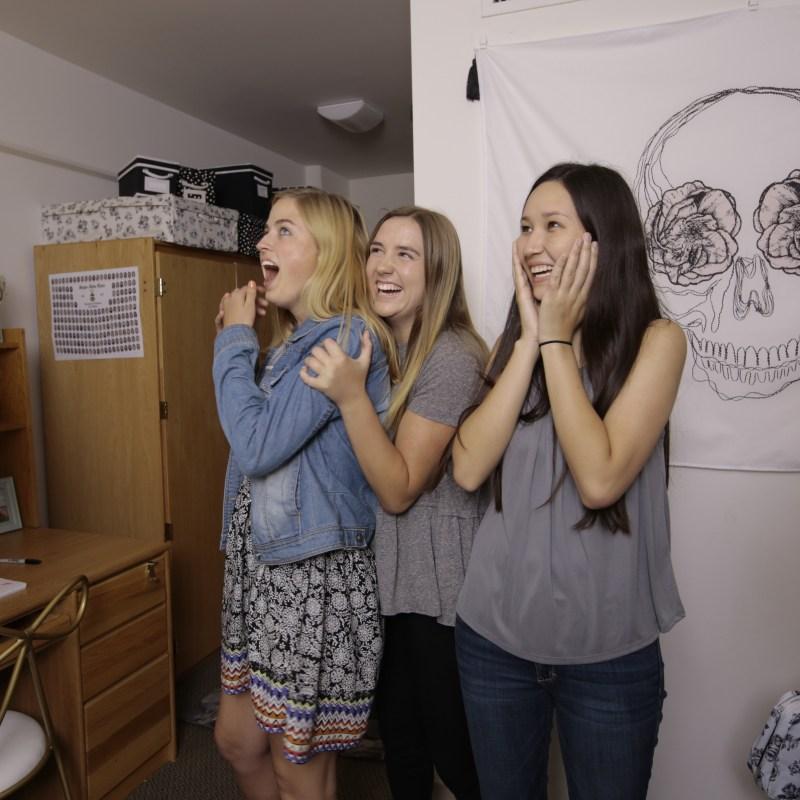 Emily and Merritt UCLA Dorm Makeover
