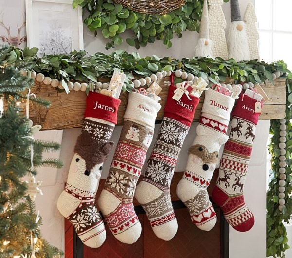 8 Styles To Elevate Your Mantle Decor For The Holidays Pottery Barn