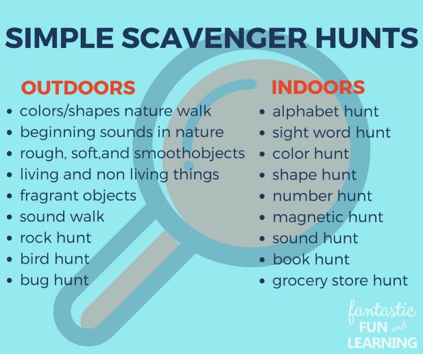 Fun Outdoor Scavenger Hunts for Kids