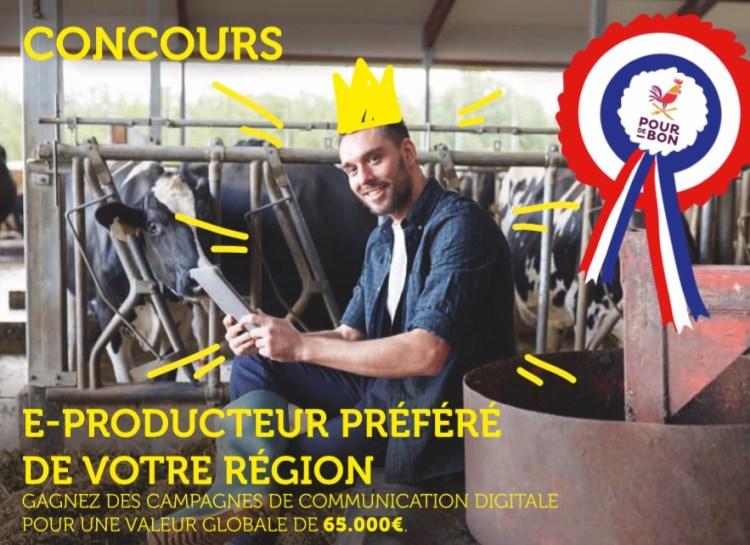 Concours Pourdebon « Devenez le meilleur e-producteur de votre région » : les résultats