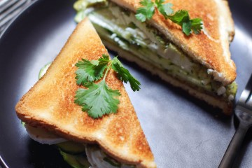 club sandwich courgette chevre pourdebon