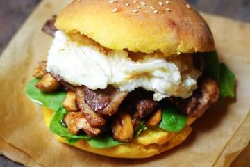 burger au potiron