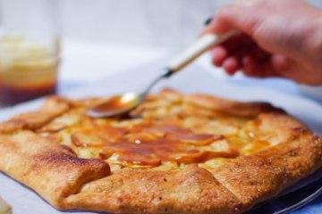tarte aux pommes confiture de lait