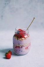 recette de smoothie aux fraises