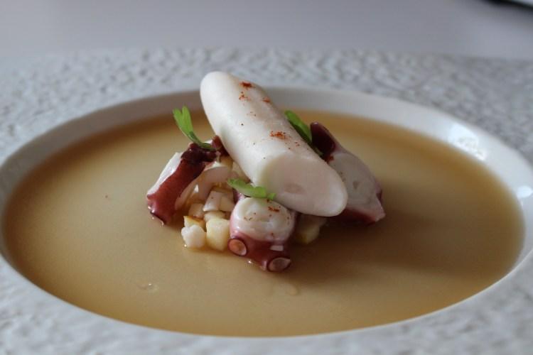 salade de poulpe - recette