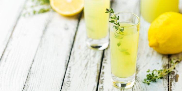 limoncello citron de Menton