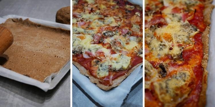 recette pâte à pizza à la farine de drêche