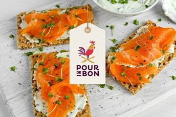 toasts saumon fumé