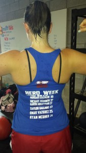 Hero Week shirt