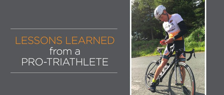Lessons from a triathlete