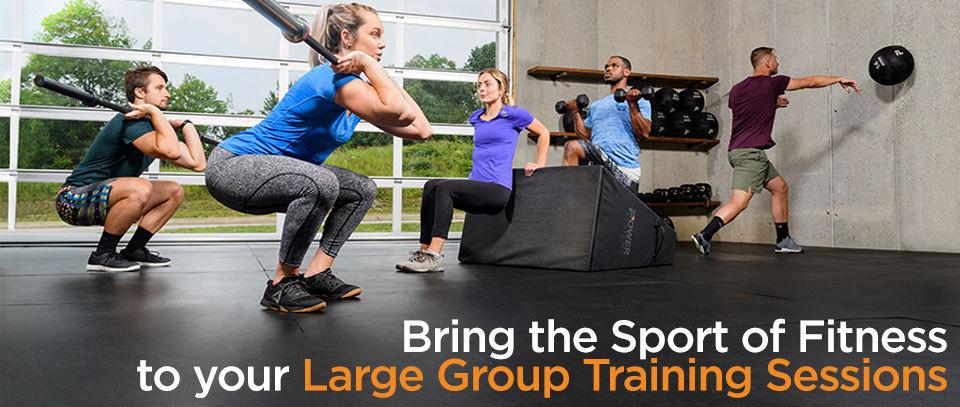 large group training