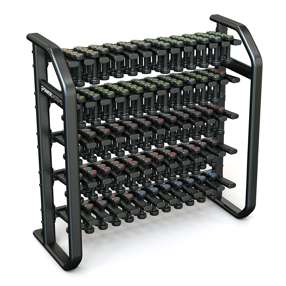 Denali Vertical Dumbbell Rack - Power Systems