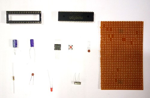 small resolution of 8051 microcontroller development board