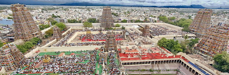 The Meenakshi Temple @en.wikipedia.org