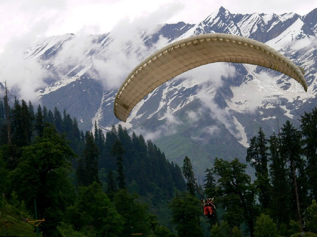 Manali-adventure places in India