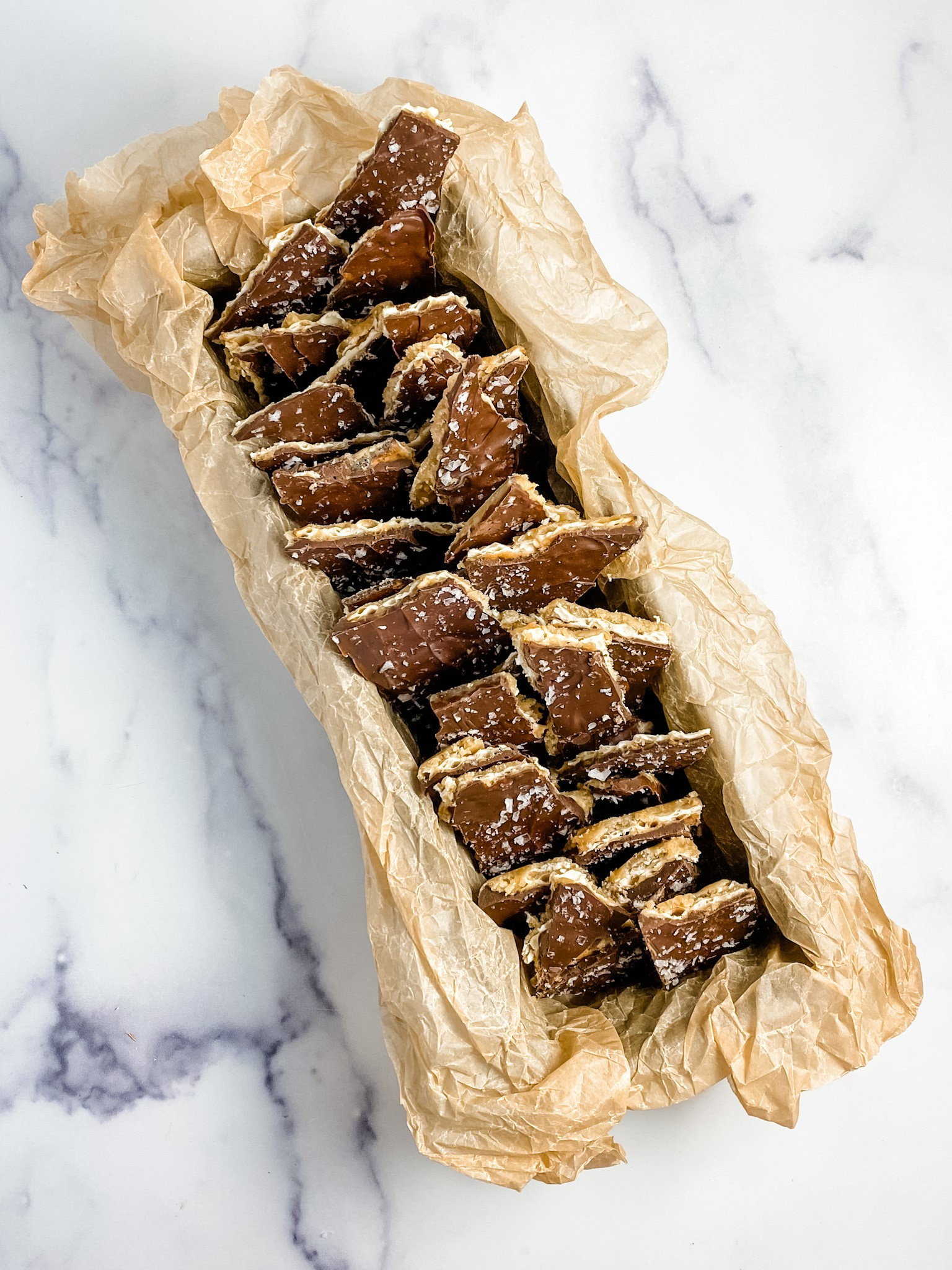 Pregistry's Friday Recipe: Chocolate Toffee Crackers