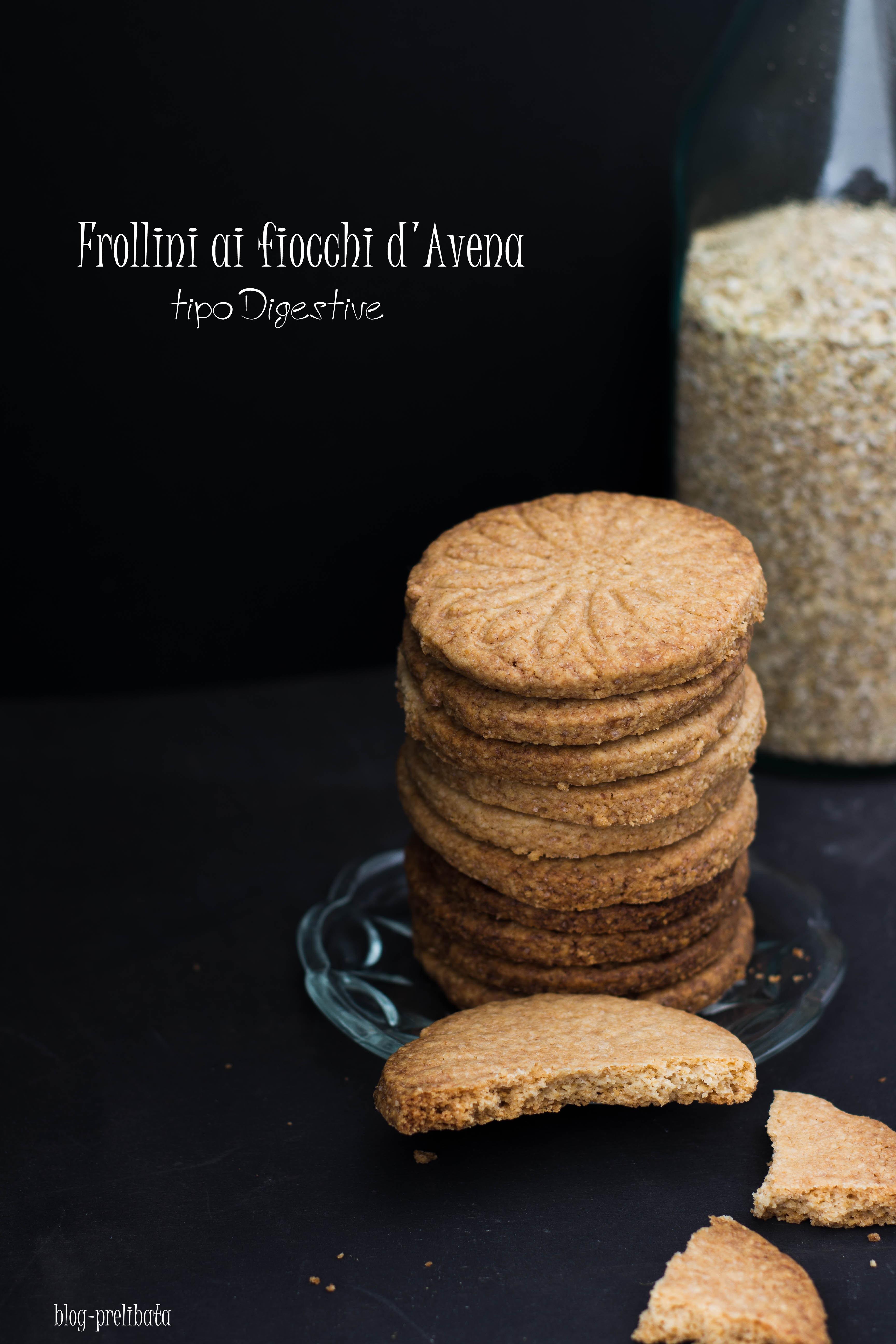 biscotti digestivi fatta a casa