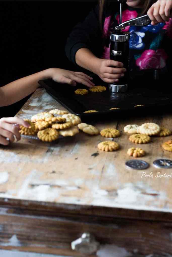 ricetta biscotti per sparabiscotti