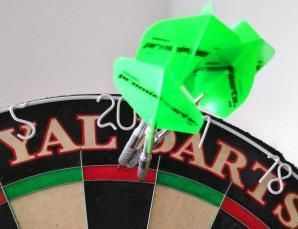 Darts Regeln double out