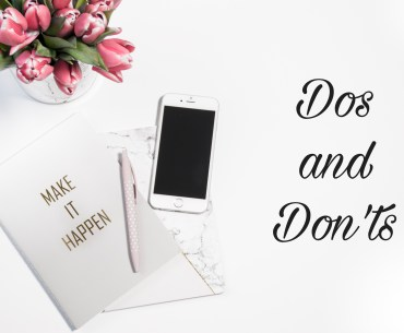Dos and Don'ts on Instagram: what to do and what to avoid at all costs