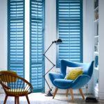 blue shutter