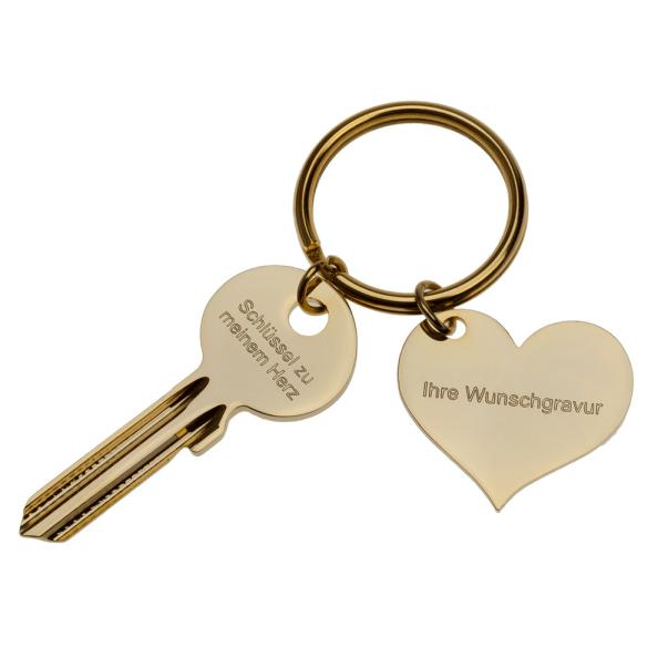 """""""Schlüssel zu meinem Herzen"""" von Geschenke24.de"""