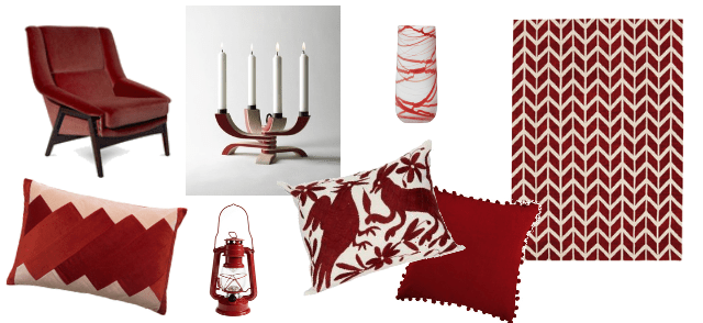 interiors trend predictions 2017 - ruby red