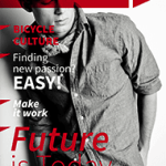 Magazine Templates Free from PressPad - Masculine